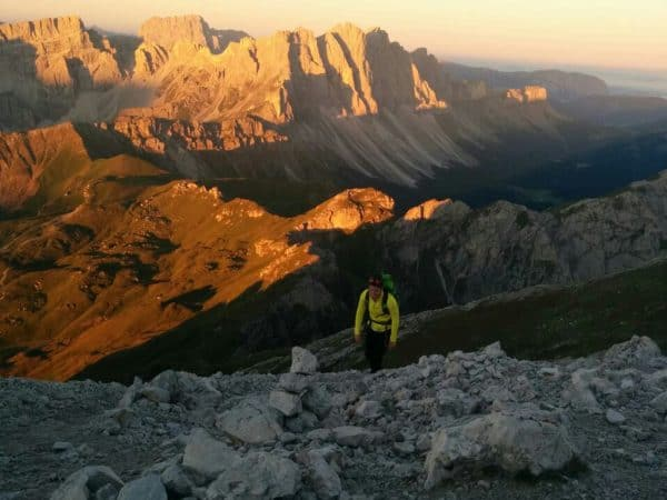 Sunrise on the mountain: why getting up at 2 a.m. is worth it