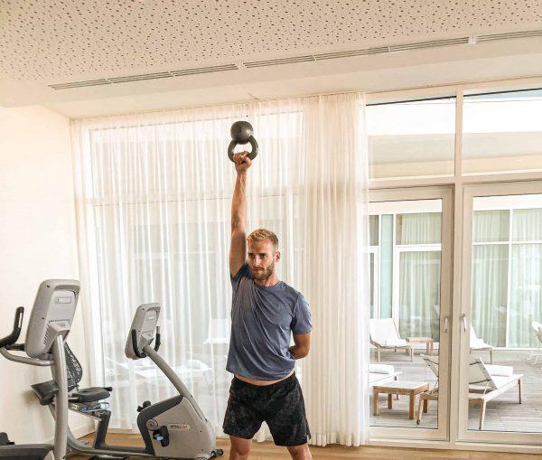 Sportroutine im Urlaub: Keep it short and simple!
