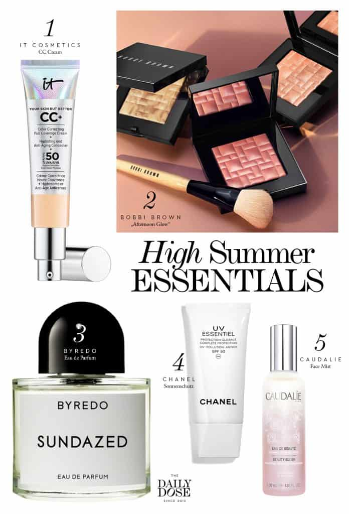 Beauty Must-Haves für den Sommer