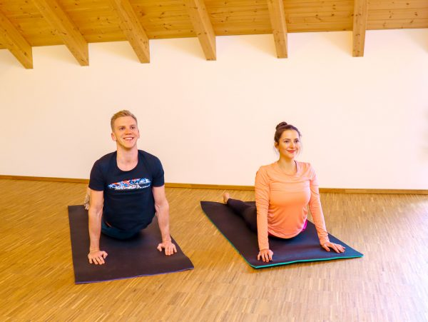 Yoga as a couple – Together with your partner in flow
