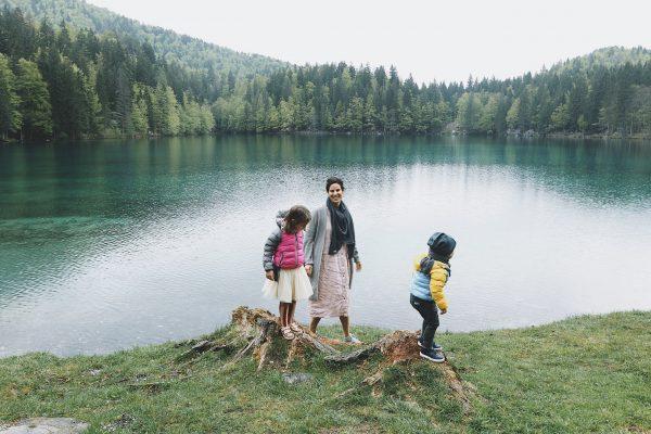 Gemeinsame Bewegung in der Natur ist gesund und macht Spaß