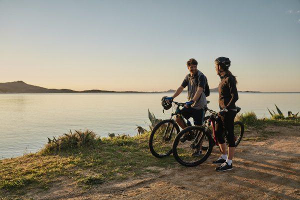 Scoprire luoghi meravigliosi in bici